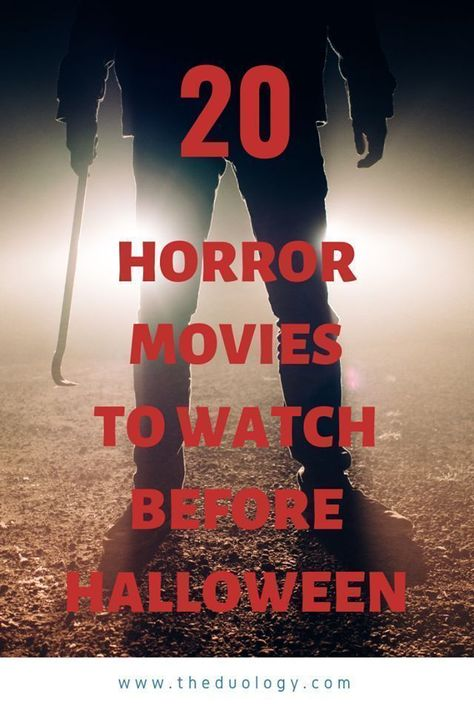 20 spook-tacular movies to watch before HALLOWEEN - The Duology