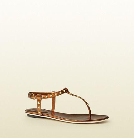 d447295e7aef Yulia Studded Leather Sandal