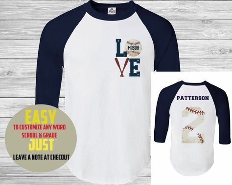 Baseball Tee,(custom Name and number ) Womens Baseball T-Shirt . man Baseball TShirt  , Gym T-Shirt , Training T-Shirt. Sports Mom dad by PortPrint1 on Etsy https://www.etsy.com/listing/252458222/baseball-teecustom-name-and-number
