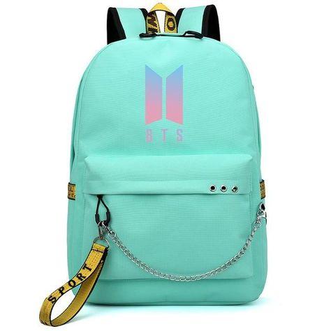 BTS BTS Kpop Backpack Gift Merchandise Laptop Bag College Bookbag Daypack School Bag Bangtan Boys Student