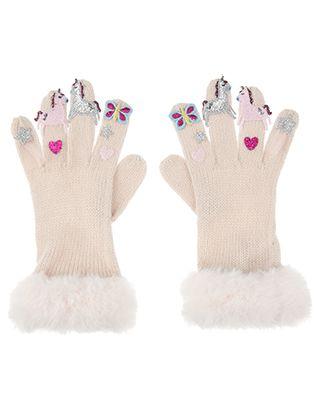 68a64fd7ad92 Toddler Boys  Critter Finger Gloves Cat   Jack™ - Blue   Target ...