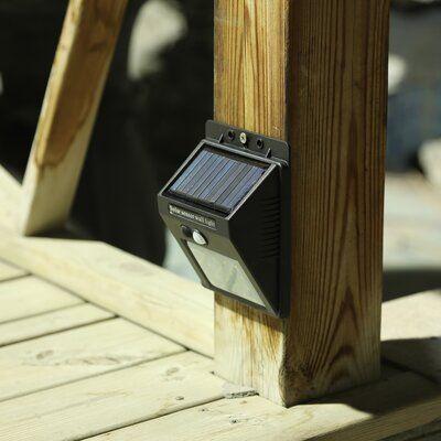 Luxen Home Solar Powered Led Deck Light Deck Lighting Solar Deck Lights Solar Powered Deck Lights