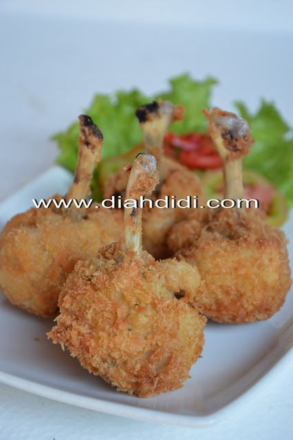 Diah Didi S Kitchen Chicken Drum Stick Makanan Cemilan Resep