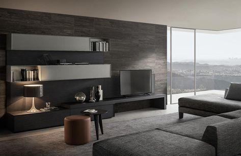 Trendy Tv Kast.Tv Kast Design Strak Modern Lommers Interieur Interior Polyform