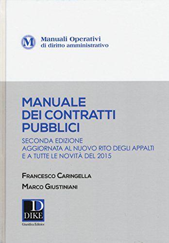 Scaricare Manuale Dei Contratti Pubblici Libri Pdf Gratis In