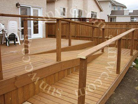 Ramp Good, Deck Good, Railing Needs Work