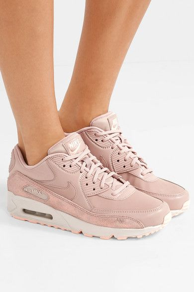 The Nike Air Max 90 Beige Suede Is A Stylish Pair