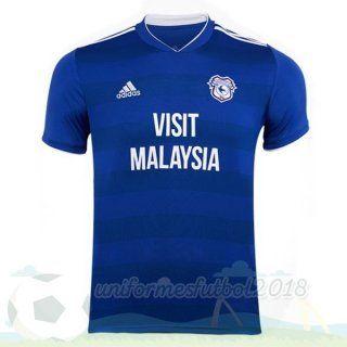 Casa Camiseta Cardiff City 2018 2019 Azul Uniformesfutbol2018