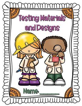 Testing Materials and Designs | Grade 3 testing materials
