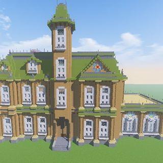 ハロウィンの時に何となく作ったアダムスファミリーのお屋敷です