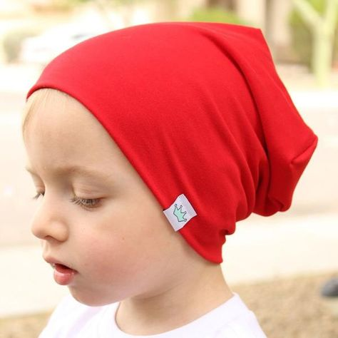 Kids Baby Slouchy Hat Solid Soft Fall Winter Warm Beanies Hats Toddlers Caps