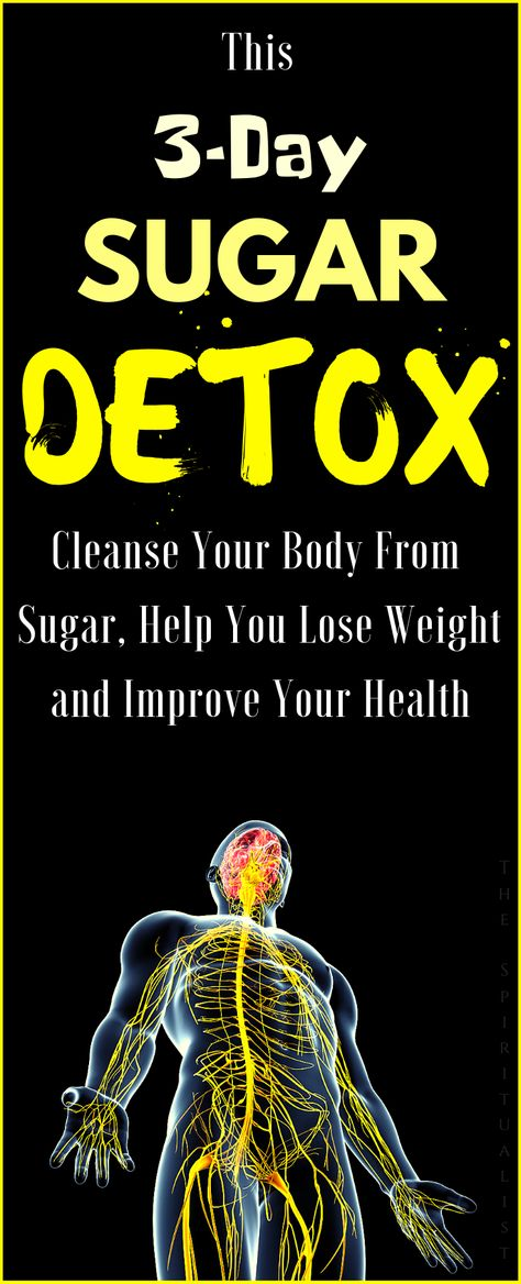 Detox Your Body from Sugar and Lose Weight Much Faster with this EFFECTIVE Sugar Detox Plan