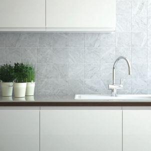 Wickes Azzara Connect Grey Field Ceramic Tile 150 X 150mm Wickes