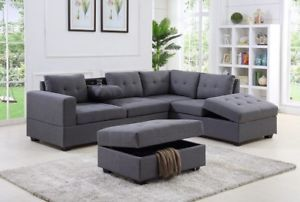 Neuf Sofa Sectionnel Divan Modulaire Direct Entrepot Sectional Couch Couch Furniture