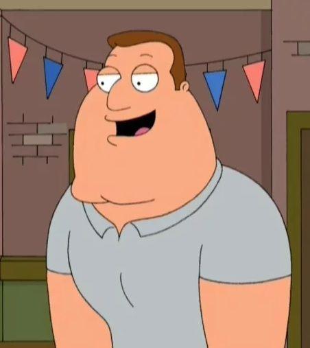 Joe Swanson Funny Celebrity Memes Favorite Tv Characters Family Guy