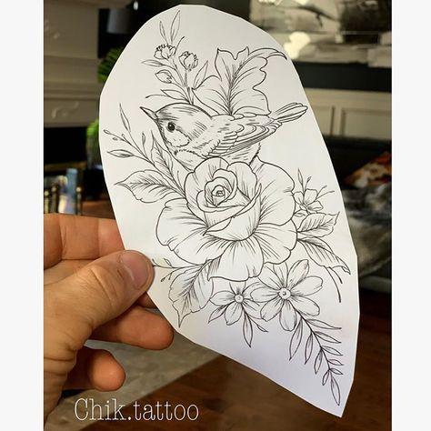 Foto do Instagram de Chik.tattoo ⚓️ Steve Savard • 4 de abril de 2019 às 09:07