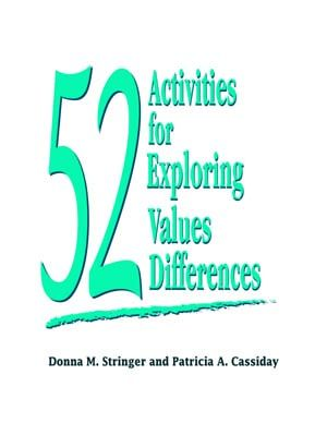 Finally, an entire manual of activities devoted to values exploration. The authors have written and adapted sound, ready-to-use activities for settings where the exploration of value differences would be beneficial: the workplace, the classroom, human resources programs, ESL classes, corporate diversity training and others.