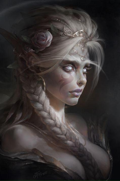 Celestys, Albinos, Démons & Vampires E32b27d807fc95755630f93d672ed4f2--night-elf-character-concept