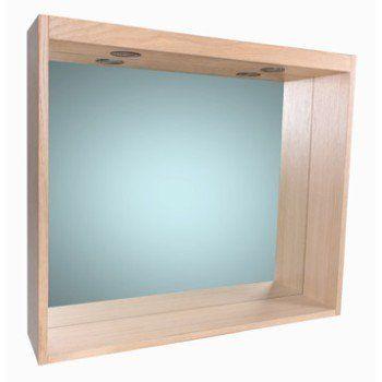 Miroir Avec éclairage Intégré L 80 Cm Sensea Storm In 2019