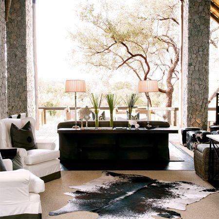 Contemporary african interior decor