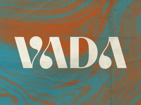 VADA designed by Alex Roka. Connect with them on Dribbble; Lettering, Typography Letters, Typography Design, Typography Poster, 2 Logo, Logo Branding, Font Logo, Typography Inspiration, Graphic Design Inspiration