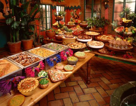 Cheap Meals For 50 People Mexican Buffet Buffet Food Cooking For A Crowd