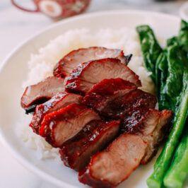Char Siu Chinese BBQ Pork (叉燒) | Oh My Food Recipes in