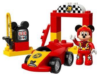Mickey Racer 10843 Lego Duplo Lego Duplo Cars Lego Disney