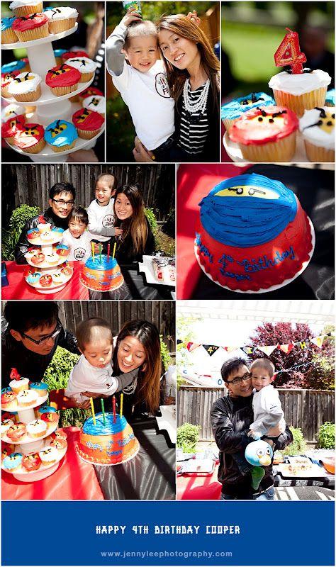 Lego Ninjago birthday party ideas.