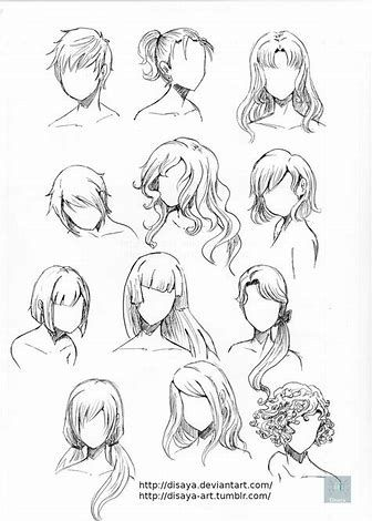 Image Result For Art Reference Human Hair How To Draw Hair Drawing Hair Tutorial Hair Reference