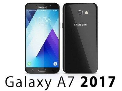 How to Hard reset Samsung Galaxy A7 2017 - step by step with