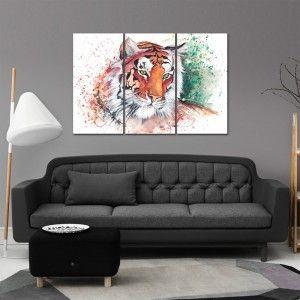 Cg2323 تابلوه مودرن مجموعة ثلاث قطع Sectional Couch Furniture Room