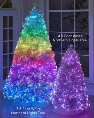 These Rainbow Christmas Trees Will Make Your Holiday So Much More Colorful Rainbow Christmas Tree Rainbows Christmas Purple Christmas