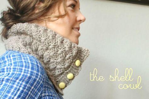 The Shell Crochet Cowl: Free Pattern - Persia Lou
