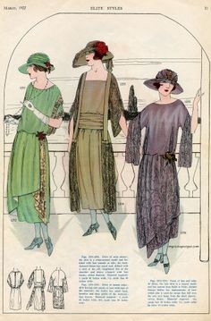 Image result for ladies fashion 1922