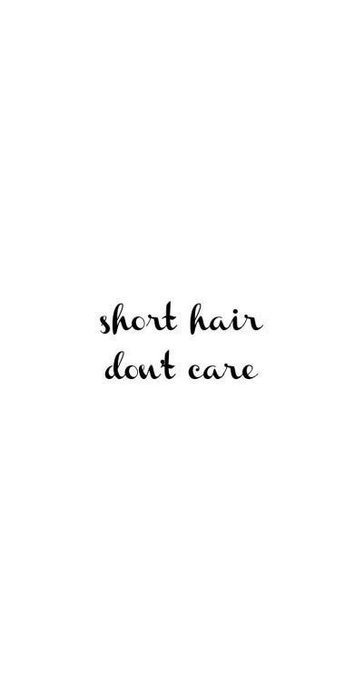 Untitled Short Hair Quotes Short Hair Styles Hair Quotes