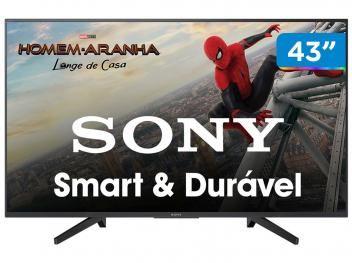 Smart Tv 4k Led 43 Sony Kd 43x705f Wi Fi Hdr 3 Hdmi 3 Usb
