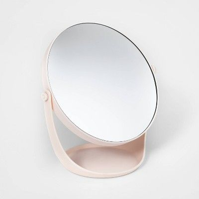 Plastic Vanity Mirror Pink Room Essentials Target Mirror