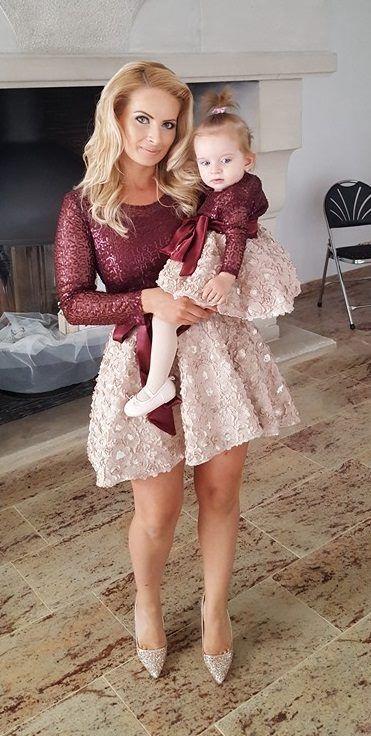 Rochii Mama Fiica En 2019 Vestidos Mama Hija Ropa Madre E