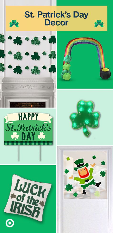 You're in luck! We got everything you need for the ultimate St. Patrick's Day party, from shamrock decor to drink ideas  more.