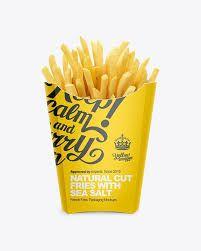 Download Image Result For French Fry Packaging Ide Kemasan Desain Banner Kemasan