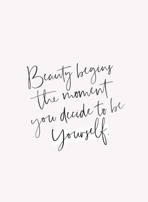 be yourself ♡