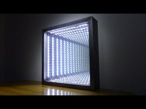 3d Infinity Ceiling Stretch Ceiling 3d Illusion Effect On Stretch Ceiling By Elektric Junkys Youtube Mirror Illusion Infinity Mirror Diy Led Infinity Mirror