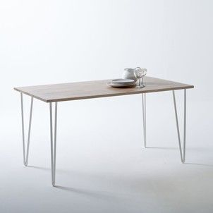Table En Chene Massif Adza La Redoute Interieurs Table Meuble Chene Meuble En Chene Massif Table Chene Massif