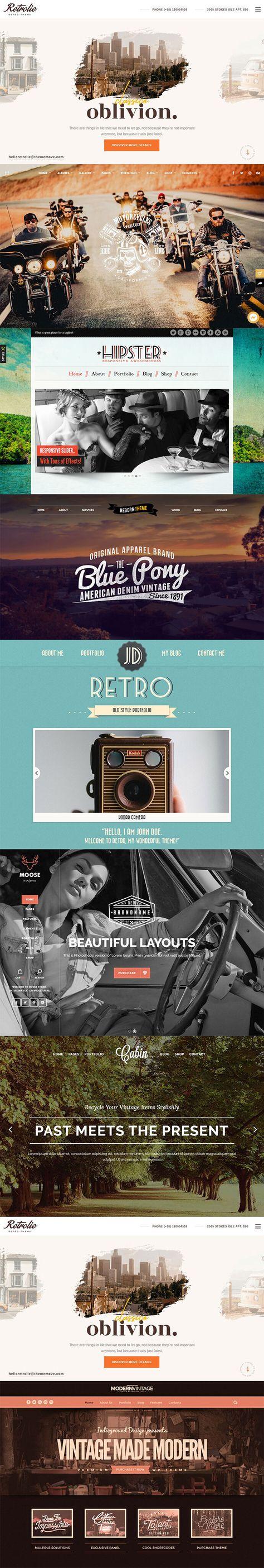 21 WordPress Themes That Totally Define Retro Cool