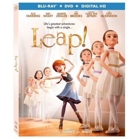 Leap Blu Ray Dvd Walmart Com In 2021 Ballerina Film Family Movies Good Movies