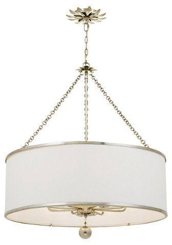 Broche 8 Light Chandelier Antiqued Silver 700 00 Chandelier