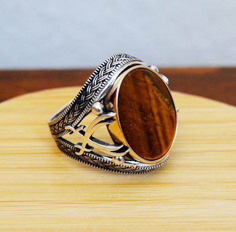 Turc fait main Ruby Sterling Argent 925K Bracelet Bangle Cuff