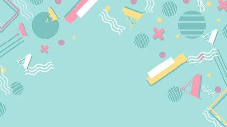 Green Fresh Geometric Education Background Design In 2021 Background Design Powerpoint Background Design Geometric Background