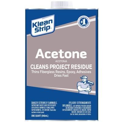 Klean Strip 1 Qt Liquid Sandpaper Cleaner Deglosser Qwn285 The Home Depot Acetone Cleaning Clothes Construction Adhesive